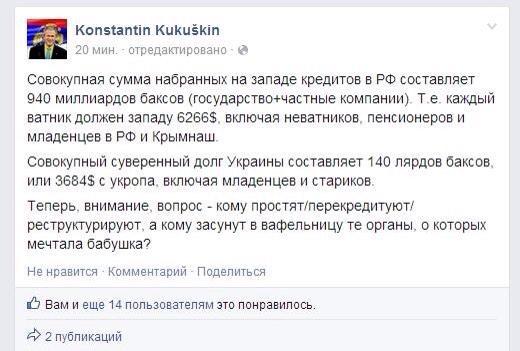За месяц Россия потратила более $27 миллиардов на поддержку падающего рубля - Цензор.НЕТ 8730
