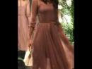 Воздушное платье из многослойного фатина