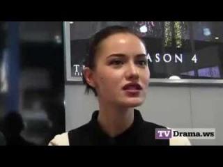 Interview Çalıkuşu Stars Fahriye Evcen & Burak Özçivit