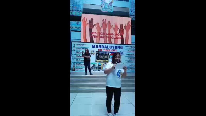 Filipino sign language deaf awareness mandaluyong