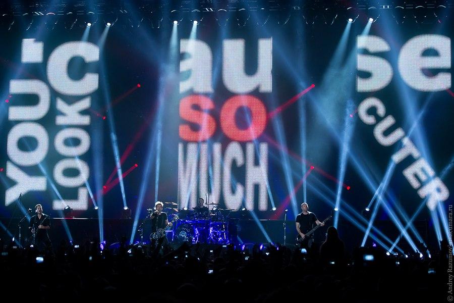 Nickelback Россия Санкт-Петербург