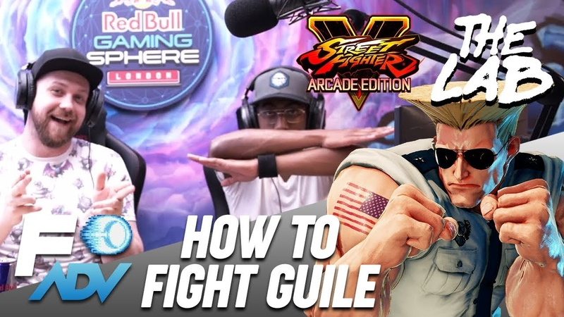 Guile: The Lab Tutorial by Tyrant and Packz Street Fighter V Arcade Edition