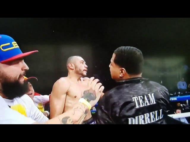 Шокирующий поступок секунданта после боя зазвание временного чемпиона мира по...