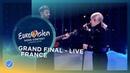 Madame Monsieur Mercy France LIVE Grand Final Eurovision 2018