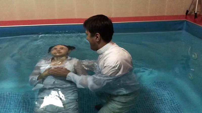 Церковь Завет Христа. Крещение Промо Видео.