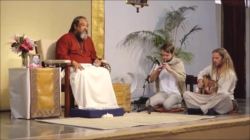 Каруна. Перед своим Мастером Муджи в Индии, Ришикеш 12.03.2017