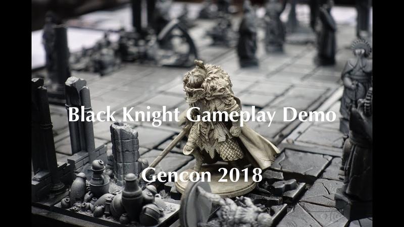 Kingdom Death Black Knight Gameplay Demo Gencon 2018
