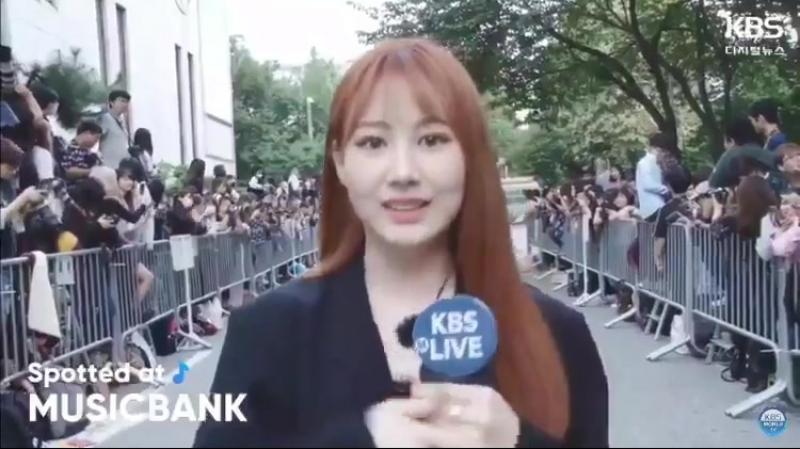 [Spotted at Music Bank] Интервью с Пак Джимин