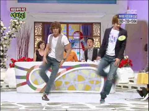 100206 [CUT2] MBLAQ Seungho Joon @ Sebakwi - Oh Yeah