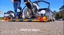 Прицеп для перевозки одного - двух мотоциклов.