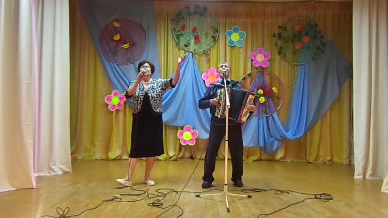 Супруги Сазоновы на концерте Золотой возраст 7 10 2018г Бабье лето
