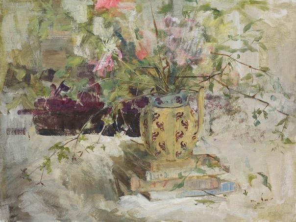 Emily Patric (English, b.1959) Родилась и выросла на ферме отца в East ent. В детстве и школьные годы не занималась живописью. Училась в Cambridge University на архитектора. Стала брать уроки