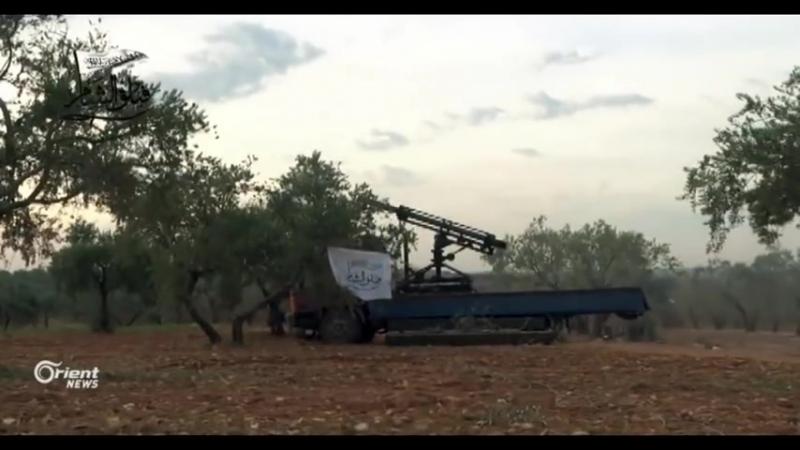 Сирия 11.01.18: репортаж о контрнаступлении бармалеев на позиции САА, Идлиб/Хама.