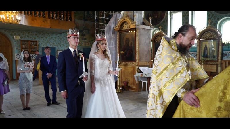 Венчание Екатерины и Романа