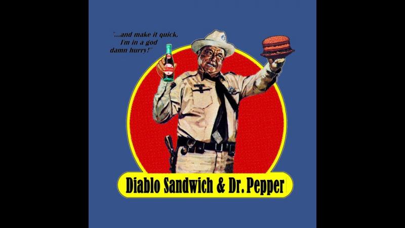 Smokey And The Bandit w Jackie Gleason Burt Reynolds sandwich