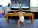 Baby Dancing to Beyonce- Single Ladies
