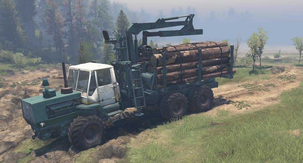 ХТЗ Т-150К для 23.10.15 и 8.11.15 для Spintires - Скриншот 3