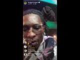 Прямой эфир Young Thug - о желании поработать с XXXTentacion
