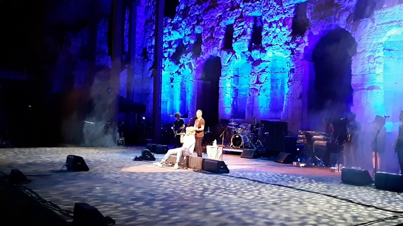 Fragile Sting Live at Odeon of Herodes Atticus Athens Greece 22 6 2018