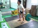 Секретное упражнение китайских штангистов