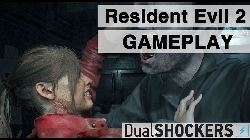 Resident Evil 2 Claire PS4 Pro Gameplay and Impressions (Also on Xbox One and PC)