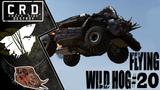 Crossout Tusk &amp Harvester FLYING WILD HOG #20 ver. 0.10.15