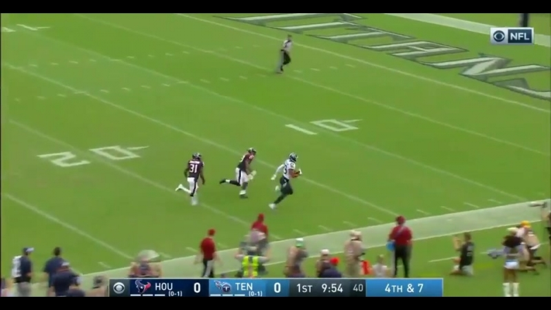 Titans fake punt goes for a 66-yard TD.