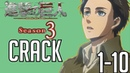 Attack on Titan Crack Season 3 Compilation 1