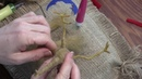 Needle Felted Rooster, Hen and Chick Part Four: Rooster