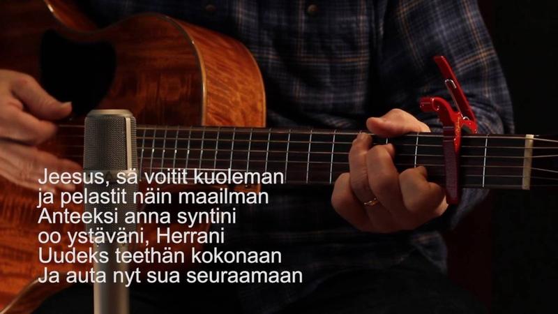 The Salvation Poem in Finnish (Suomi)