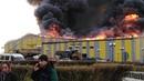 Сильный пожар на АО Разрез Тугнуйский , Бурятия