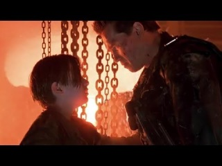 Arnold Schwarzenegger - It's Over Goodbye | Terminator 2 : Judgment Day | Final Scene Soundtrack HD