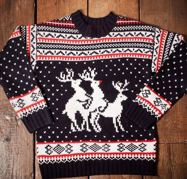Начали работу над свитером с
