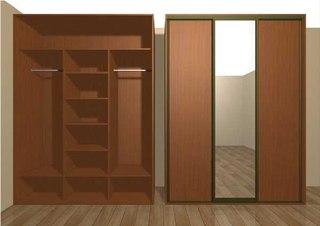 Сборка зеркальных дверей для шкафа - купе.