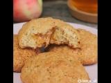 овсяное печенье с карамелью