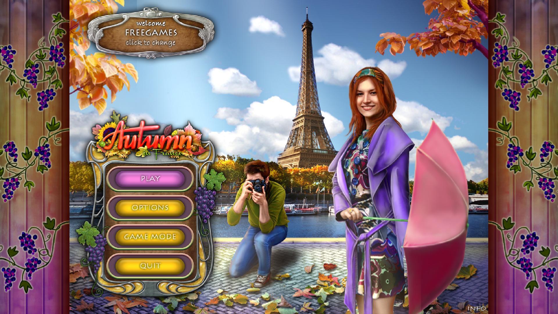 Четыре сезона разных стран мира: Осень во Франции | Four Seasons Around the World: Autumn in France (En)