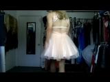 Crossdressing - Beautiful shiny dress