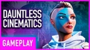 Dauntless Intro Cinematics And Hunt Tutorial Full Gameplay