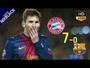 Bayern Munich 7-0 Barcelona 2013 UCL Semi Final All Goals & Extended Highlight HD/720P
