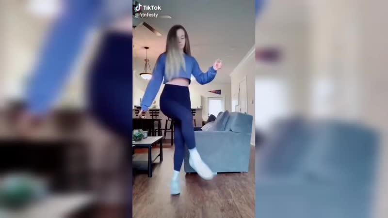 Тик Ток Танец ногами Shuffle dance tiktok