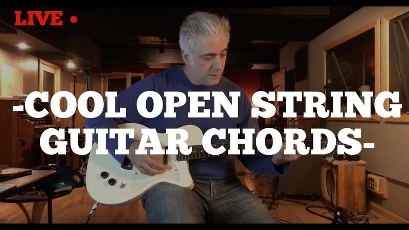 Cool Open String Guitar Chords | Rock Pop Jazz