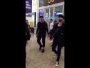 180625 EXO Lay Yixing @ WUX Beijing Airport
