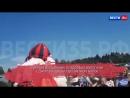 Сказочный прыжок от Деда Мороза