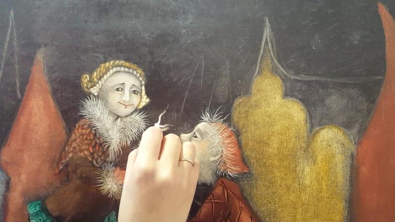 Рисуем волшебный цветочек с Надеждой Ильиной