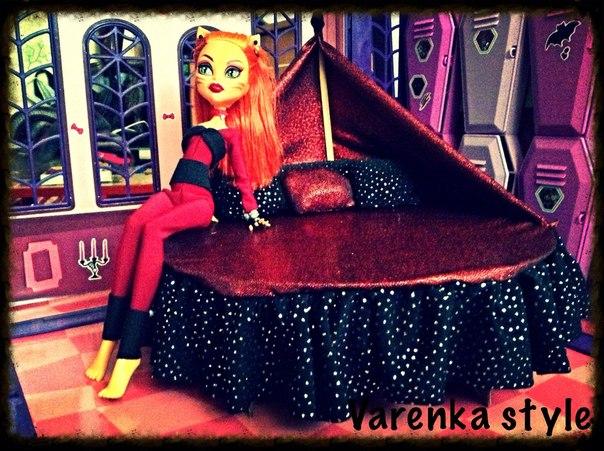 Мебель для куклы монстер хай своими руками