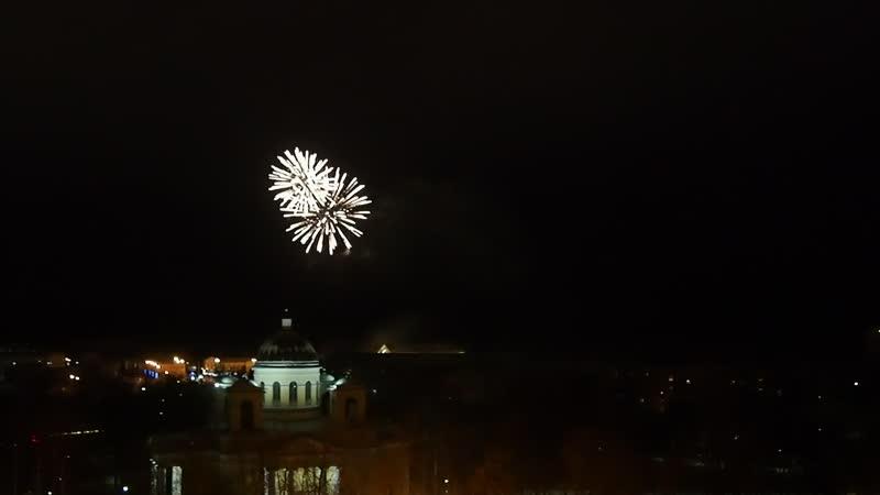 С Новым годом, любимый Петрозаводск САЛЮТ- 2019г. (видео-ПИБ)