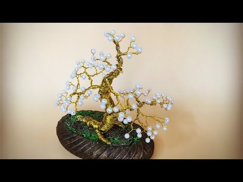 ABC TV | How To Make A Bonsai Tree From Copper Wire - Craft Tutorial 4