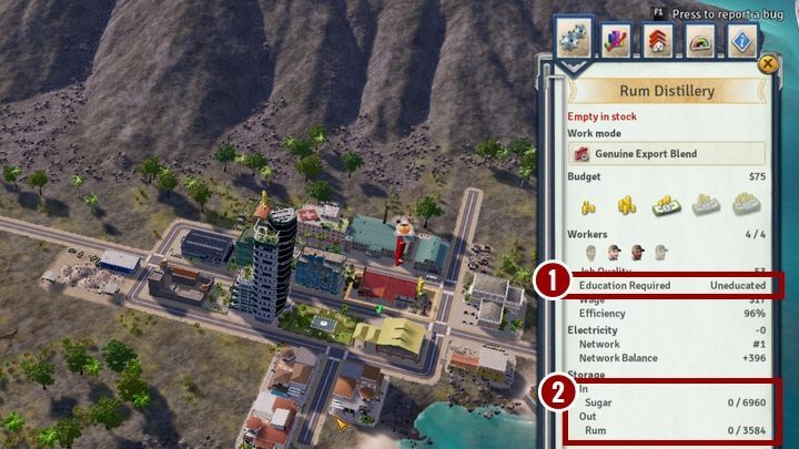 Ромовый завод в Tropico 6