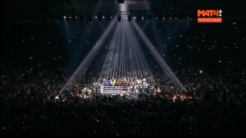 Бой Усик - Гассиев . Финал Всемирной боксерской суперсерии. Oleksandr Usyk vs Murat Gassiev.