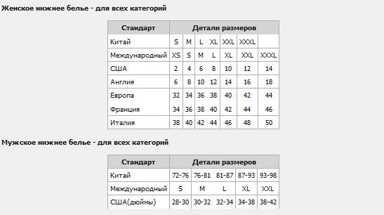Мужские размеры одежды таблица россия - photo#20